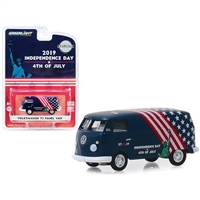 "Greenlight - Volkswagen T2 Panel Van 4th of July, Independence Day 2019""""Hobby Exclusive"