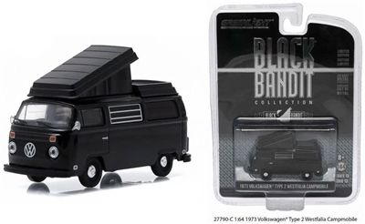 Greenlight - Black Bandit Collection Series 13 - 1973 VOLKSWAGEN TYPE 2 WESTFALIA CAMPMOBILE