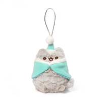 "GUND Pusheen Blind Box Series 5 - Holiday Cheer 3"" Plush Ornament - Stormy Caroler"