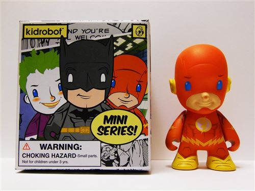 Kidrobot- DC Comics - Flash (2/20)
