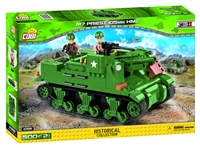 "COBI M7 ""Priest"" 105mm HMC Tank (2386)"