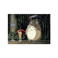 "Totoro Jigsaw Puzzle 108 Pieces Finished Size 10"" X 7"""