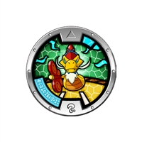 Yo-Kai Watch - Series 3 Medal - Slitheref (1/24)