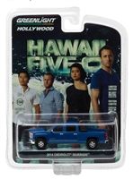 Greenlight - Hollywood Series 16 - 2014 Chevrolet Silverado - Hawaii Five-O (2010-Current TV Series) Diecast Vehicle