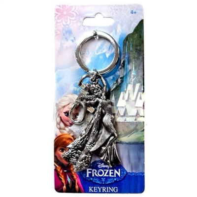 Disney Frozen Elsa Pewter Key Ring