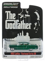Greenlight - Hollywood Series 14 - The Godfather - 1955 Cadillac Fleetwood Series 60  Green Machine