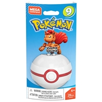 Mega Construx Pokemon Buildable Figure & Poke Ball - Vulpix