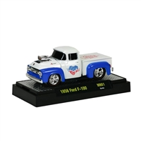 M2 Machines - Moon Pie Series (MN01) - 1956 Ford F-100 (Blue & White Sweetie Pie)