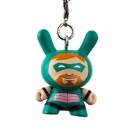 Kidrobot Justice League Dunny Series Keychain - Green Arrow