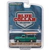 Greenlight - Blue Collar Collection 1 - 1968 Chevrolet C-10 Pick Up Truck (Dark Green w/ Ladder)