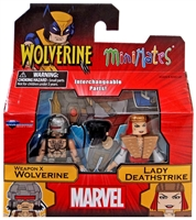 Marvel Minimates Series 72 Weapon X Wolverine & Lady Deathstrike