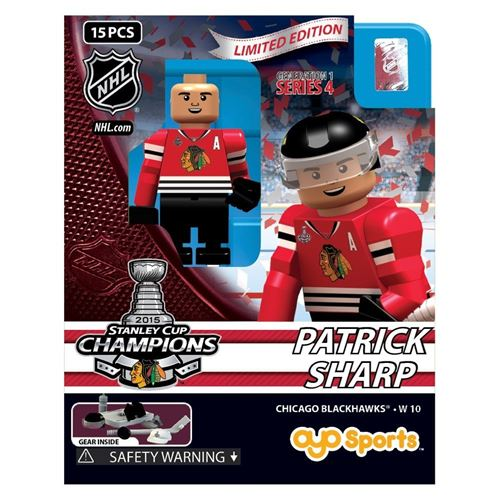 Patrick Sharp - 2015 Stanley Cup Champions - Chicago Blackhawks (G1S4)