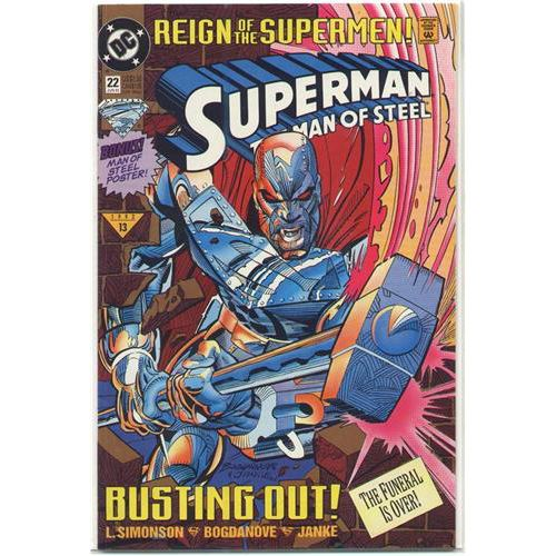 Superman the Man of Steel - Reign of the Supermen
