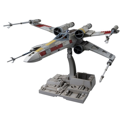 Bandai Hobby - Star Wars  X-Wing Star Fighter Building Kit (1/72 Scale)