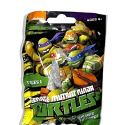 Nickelodeon Teenage Mutant Ninja Turtles Keychain & 3d Puzzle - 5 Sealed packs