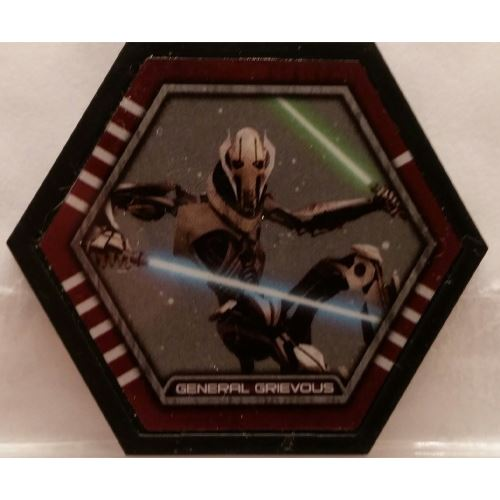 Star Wars Galactic Connexions - General Grievous - Black/Standard - Uncommon