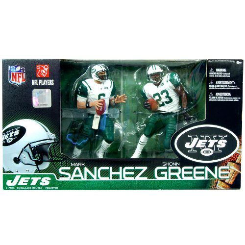 McFarlane- NFL Sports Picks 2Pk - Mark Sanchez & Shonn Greene - New York Jets
