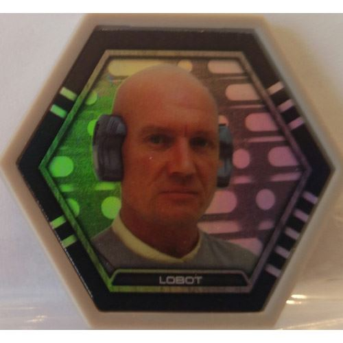 Star Wars Galactic Connexions - Lobot - Gray/Holographic Foil - Common