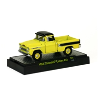 M2 Machines - Auto-Trucks (R25) - 1958 Chevrolet Yellow Cameo 4x4