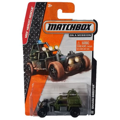 Matchbox 2014 Heroic Rescue - Sahara Sweeper (104/120)