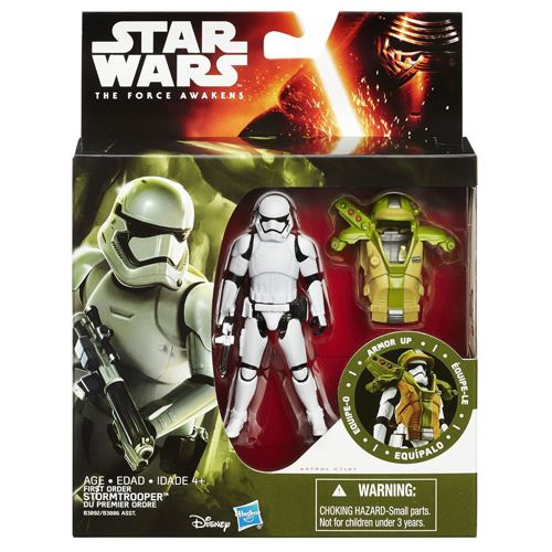 Star Wars The Force Awakens 3.75-Inch Figure Forest Mission Armor First Order Flametrooper