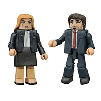 The X-Files: Modern Mulder & Scully Minimates Action Figure