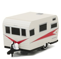 Greenlight - Hitched Homes Series 1 - 1959 Siesta Travel Trailer Diecast Vehicle