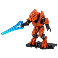 Mega Bloks Halo - Foxtrot Series - Mini Blind Bag Figure - Orange Elite Zealot