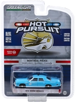 Greenlight - Hot Pursuit Series 32 - 1974 Dodge Monaco Montreal Canada Police