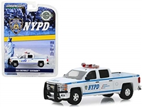 Greenlight - Hobby Exclusive - NYPD 2015 Chevrolet Silverado