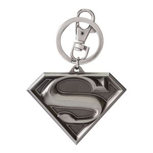 DC Comics- Superman Logo Pewter Keyring