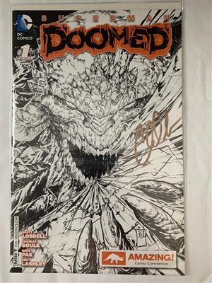 ALVCC Exclusive - Superman Doomed #1 DC Comics Sketch Variant by Charles Soule