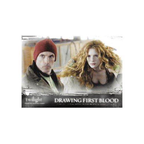 Twilight Premium Trading Cards - Card #39 - Drawing First Blood