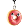Kidrobot Yummy World Attack of the Donuts Keychain Series - Pink Frosted (2/24)