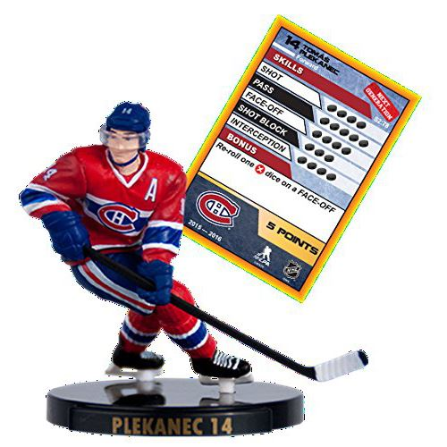 "2016 NHL 2.5"" Figure - Tomas Plekanec - Montreal Canadians (Common)"