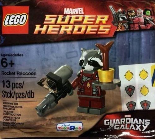 Guardians of the Galaxy - Exclusive Rocket Raccoon Figure