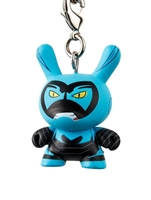 Kidrobot Justice League Dunny Series Keychain - Blue Beetle