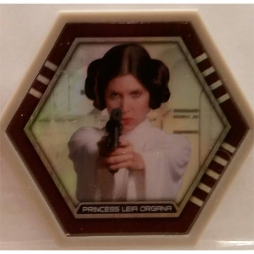 Star Wars Galactic Connexions - Princess Leia Organa - Gray/Holographic Foil - Common
