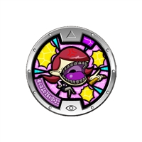 Yo-Kai Watch - Series 3 Medal - Nagatha (1/24)