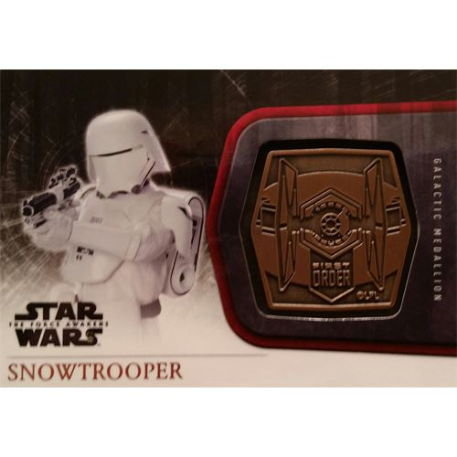 Topps 2015 The Force Awakens Series 1 - Snowtrooper Bronze Medallion M-59