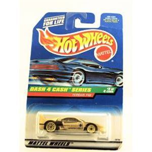 1998 - Dash 4 Cash Series - Ferrari F40 - Gold Metallic Paint