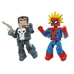 Marvel Spiderman & Punisher