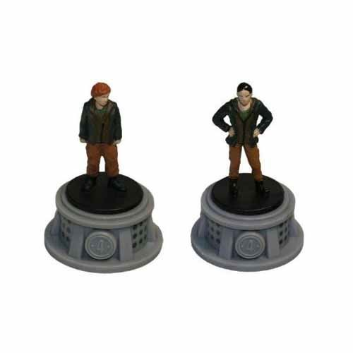 Bundle - 2 Items - The Hunger Games Figurines - Set of 2 Tributes - District 4