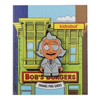 Kidrobot Bob's Burgers Enamel Pin Collection - Calvin (1/20)