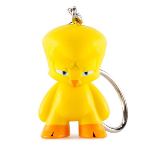"Looney Tunes 1.5"" Vinyl Keychain TWEETY BIRD (2/24 Rarity)"