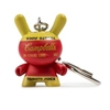 Kidrobot Andy Warhol Dunny Keychain - Campbell's Soup Box (3/24)