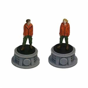 Bundle - 2 Items - The Hunger Games Figurines - Set of 2 Tributes - District 6
