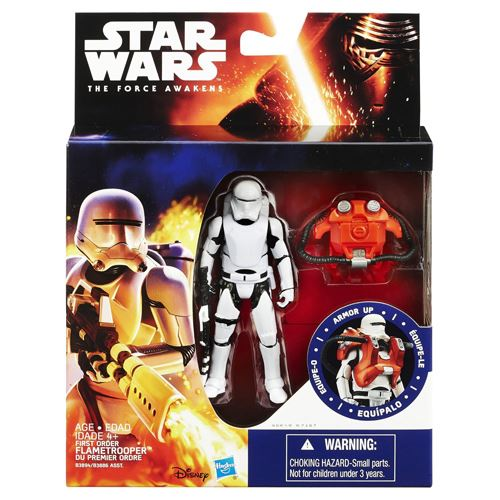 Star Wars The Force Awakens 3.75-Figure Space Mission Armor First Order Flame...