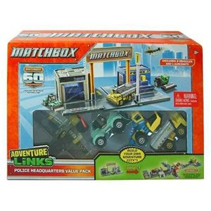 Adventure Links - Police Headquarters Value Pack (3 Vehicles & 1 Aircraft)
