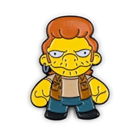 Kidrobot The Simpsons Enamel Pin Series - Snake